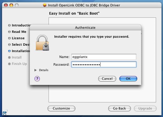Lite Edition ODBC-JDBC Bridge Installation Guide (macOS