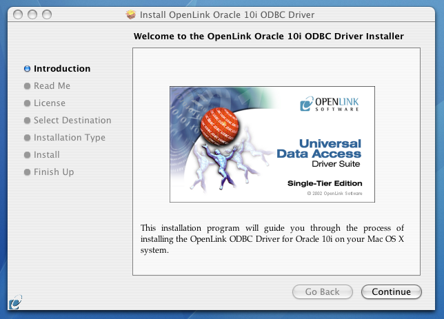 (Single-Tier) ODBC Driver for Oracle 10g Data Sources, for